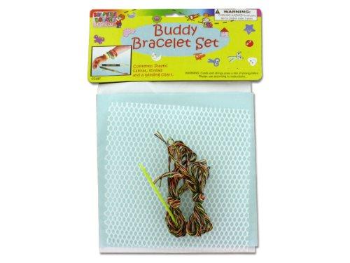 Buddy bracelet craft set - Pack of 48