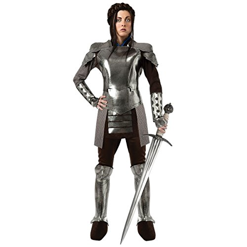 [GSG Knight Costume for Women Adult Renaissance Medieval Game of Thrones Dress] (Womens Elf Warrior Costume)