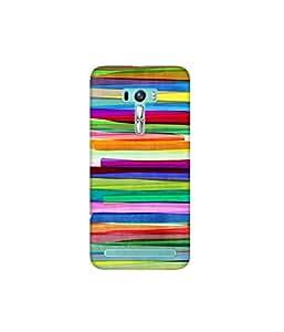 Kolor Edge Printed Back Cover for Asus Zenfone Selfie - Multicolor (4400-Ke10817ZenSelfieSub)