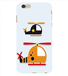 HiFi Designer Phone Back Case Cover Apple iPhone 6 :: Apple iPhone6 ( Helicopter Chopper Theme )