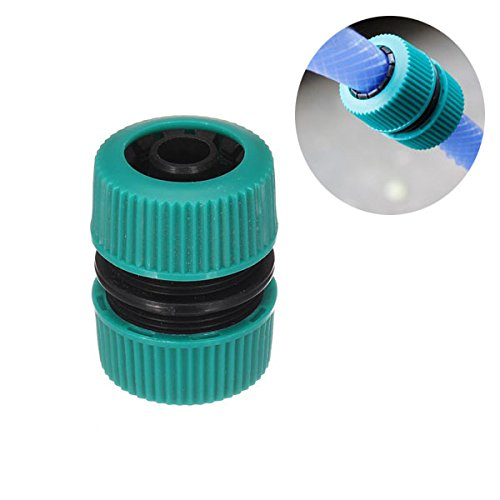 1/2 Inch Plastic Water Hose Connector Garden Water Pipe Restore Joint (Dual Flex Expandable Hose compare prices)