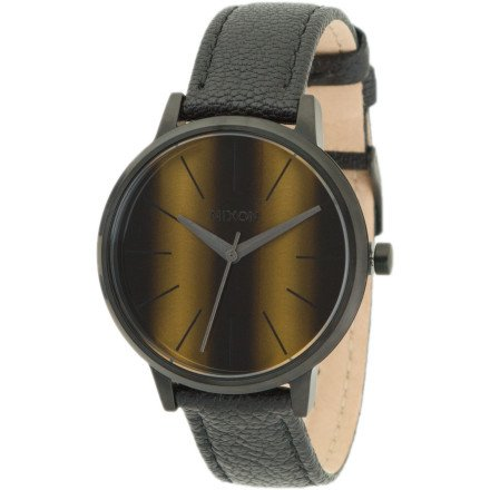 AlfonsoPlatoJared OrderToday Nixon Kensington Leather Watch