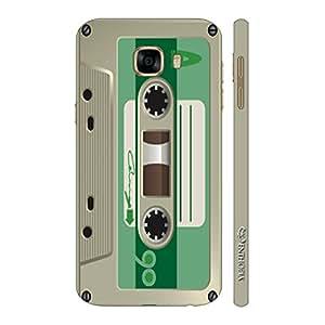 Enthopia Designer Hardshell Case Retro Cassette 1 Back Cover for Samsung Galaxy C5