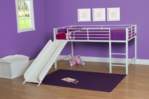 dhp beds junior loft bed girl kids bedroom furniture designs white slides baby. Black Bedroom Furniture Sets. Home Design Ideas