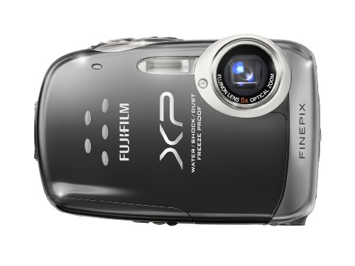 Fujifilm FinePix XP10 12 MP Waterproof Digital Camera with 5x Optical Zoom and 2.7-Inch LCD (Black)