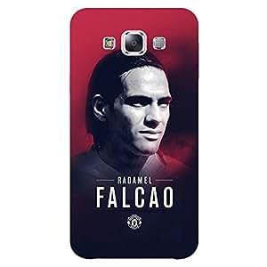 Jugaaduu Manchester United Falcao Back Cover Case For Samsung Galaxy E7