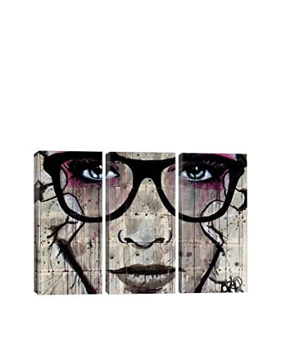 Loui Jover Specs Gallery Wrapped Triptych Canvas Print