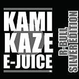 【純国産】KAMIKAZE E-JUICE 15ml 電子タバコ VAPE用リキッドジュース (R-BULL SILVER EDITION:レッドブルシルバーエディションフレーバー, 15ml)