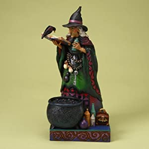 Jim Shore Conjouring Up a Spell Witch with Potions 4017588