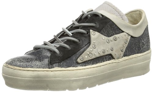 Airstep Womens 135121 Low Top Black Schwarz (NERO+NERO+PERLA+GRIG) Size: 40
