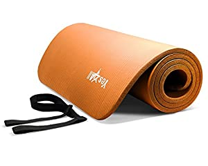 Orange NPR Yoga Mat 68x24x0.4