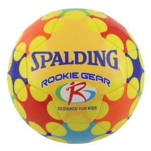 Spalding Rookie Gear Soccer Ball (Yellow)