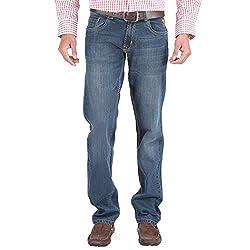 Trigger Men's Regular fit Blue JeansR44L-211S