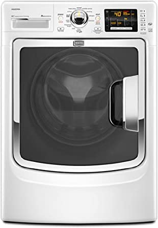 Maytag MHW7000XW Maxima 4.3 Cu. Ft. White Stackable With Steam Cycle Front Load Washer - Energy Star