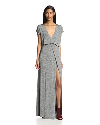ADDISON Women's V-Neck Maxi Dress