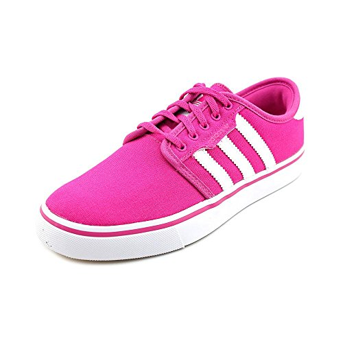 Adidas Seeley J Youth Girls Size 6 Pink Canvas Skate Shoes U