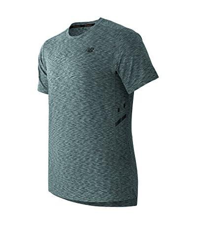New Balance T-Shirt Manica Corta MT61032 [Grigio]