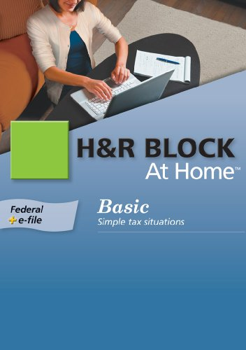H&R Block At Home 2009 Basic Federal + eFile [Formerly TaxCut] [Download] [OLD VERSION]