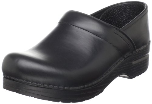 Dansko Women'S Pro Clog,Ebony,38 Eu/7.5-8 M Us back-772246