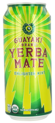 Guayaki - Yerba Mate Enlighten Mint - 16 Oz.
