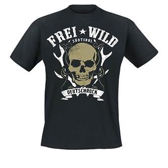 Frei.Wild - Mittelfinger Der Nation T-Shirt, schwarz, Grösse S