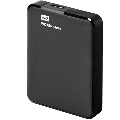 WD WDBU6Y0020BBK-EESN Elements Hard Disk Esterno Portatile, USB 3.0, 2 TB