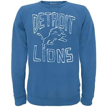 Detroit Lions - Logo Crew Neck Sweatshirt by Old Glory