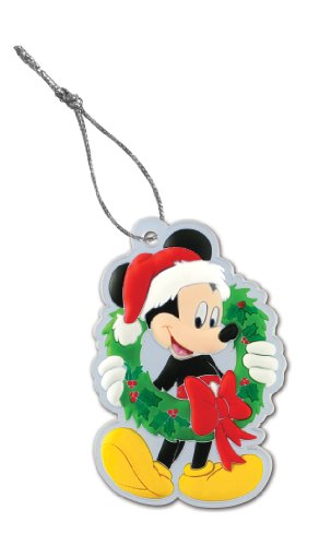 Disney Mickey Wreath Christmas Laser Cut Cell Phone Strap - 1