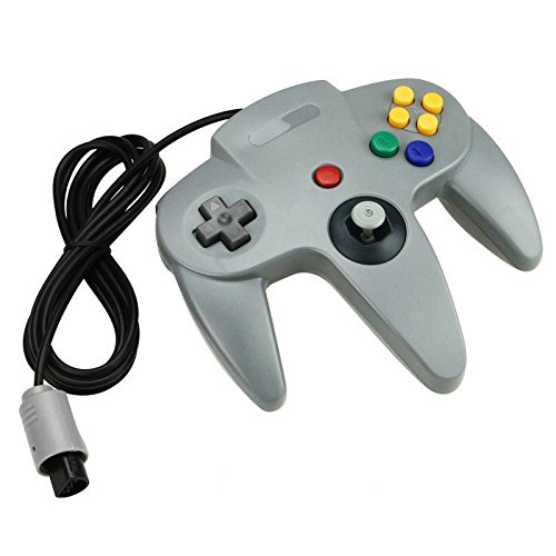 New Grey Long Handle Controller Pad Joystick For Nintendo 64 N64