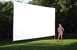 OutStanding ScreensTM 220 inch, 16'x9', Portable Outdoor Movie Projection Screen