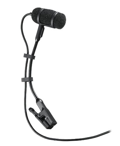 Low-Profile Condenser Instrument Microphone