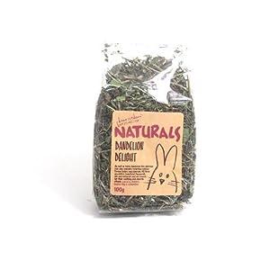 Rosewood Boredom Breaker Natural Treat Dandelion Delight, 100g