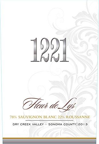 1221 2013 Fleur De Lys Sonoma White 750Ml