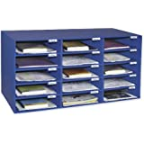 Classroom Keepers 15 Slot Mailbox, Blue