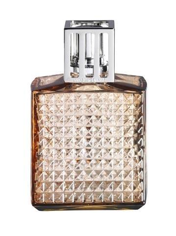 Lampe Berger Diamant Ambre Lampada vetro ambra taglio diamantino
