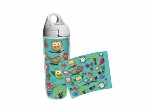 Tervis Water Bottle, Owls Wrap