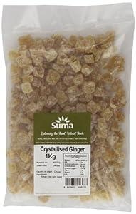 Suma Crystallised Ginger 1 kg