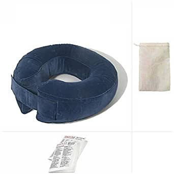 Going In Style Komfort Kollar Neck Support Inflatable Pillow Travel Set