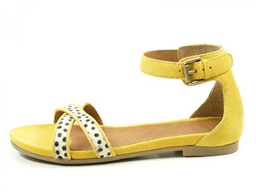 SPM 40496982 Nantes Sandali donna, schuhgröße_1:37 EU;Farbe:jaune