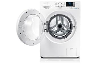 Samsung WF80F5E3U4W machine à laver - machines à laver (Autonome, Charge avant, A+++, B, Blanc, LED)