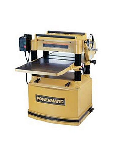 Powermatic 1791297 Model 209 20-Inch 5 Horsepower Planer, 230/460-Volt 3 Phase