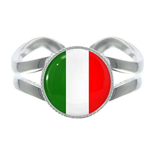 italian-flag-design-silver-plated-adjustable-ring
