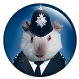 Policeman Guinea Pig Badge