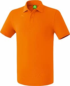 erima Herren Poloshirt Teamsport, orange, M, 211339