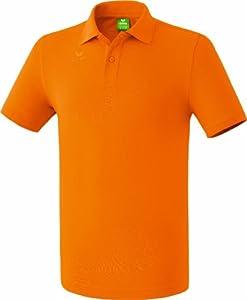 erima Herren Poloshirt Teamsport, orange, M, 211339