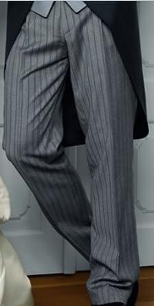 Stresemannhose Wilvorst, hellgrau/schwarz Größe: 24