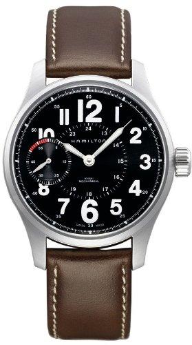 Hamilton H69619533 - Reloj para hombres, correa de cuero