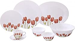 La Opala 27 Pc Dinner Set - Tulip Garden