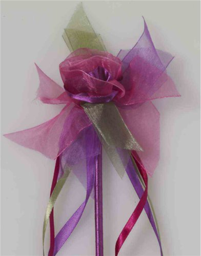 Costume Fairy Princess Pixie Pink Purple Flower Wand Scepter