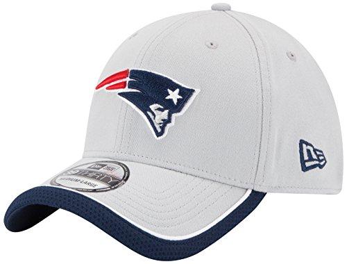 NFL New England Patriots 39Thiry Flex Fit Cap, Reverse Team Color, Medium/Large